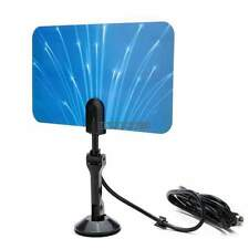 Flat Design Digital Indoor Antenna TV HDTV DTV Box Ready High Gain HD VHF UHF