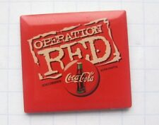 COCA-COLA / OPERATION RED ....................Pin (111h)