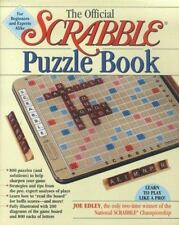 The Official Scrabble Puzzle Book - New - Edley, Joe - Paperback