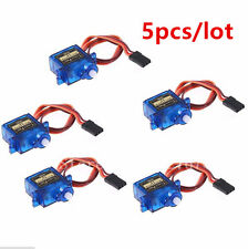 5pcs/lot Tower Pro SG90 RC Micro Servo 9g For  Car Helicopter Plane Boat