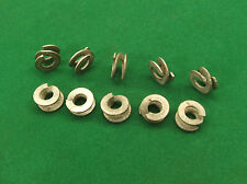 """1/4"""" BSC British Standard Cycle 25x Double Coil Spring Washer Thackery CEI"""