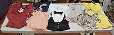 NEW WHOLESALE LOT WOMEN MIX BABY PHAT NAME BRAND CLOTHS MIX SIZE I TOTAL 10PCS