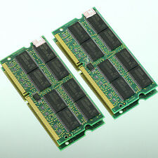 NEW 1GB 2X 512MB PC133 133MHz SDRAM 144Pin 133 Laptop Notebook sodimm MEMORY RAM