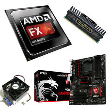 AMD FX 6300 Six Core 4.10GHz 4GB Vengeance MSI 970 Gaming Motherboard Bundle