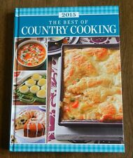 Taste Of Home THE BEST OF COUNTRY COOKING Cookbook 2015