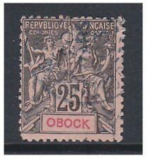 Somali Coast - 1892, 25c OBOCK stamp - G/U - SG 57