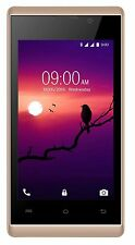Lava A48(Champagne/White, 4 GB)Android v5.1OS,Video PIP Feature,1.3 GHz QuadCore