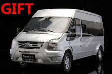 Car Model Jiangling Ford Transit 1:18 (Silver) + SMALL GIFT!!!!!!!!!