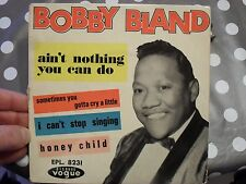 RARE FRENCH EP/BOBBY BLAND/EPL.8231/AIN'T NOTHING YOU CAN DO
