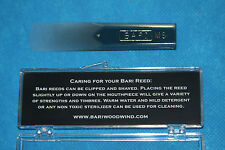 Bari Star Series Synthetic Tenor Sax Reed, Medium Soft Strength, BSTSMS
