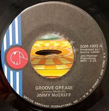 Jimmy Mcgriff Groove Grease/Mr. Lucky Jazz Funk 45 NM- 10.00  Groove Merchant