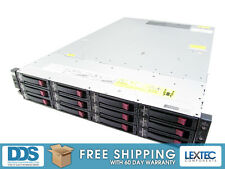 HP ProLiant DL180 G6 2U 2X XEON QC L5520 2.26GHZ 12xTRAYS 24GB P410 RAID 512MB