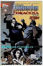 FRANKENSTEIN DRACULA WAR #3, NM, Mike Mignola, 1995, Topps, more indies in store
