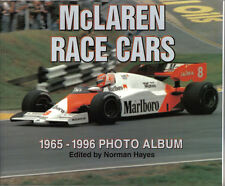 Voitures course mclaren 1965-1996 album photo série édité par NORMAN HAYES 1997