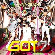 New GOT7 LOVE TRAIN First Limited Edition Type A CD DVD Booklet Card Japan