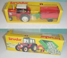 Vintage 1970's International 844-S Tractor & Wagon Set W/Box