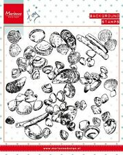 Marianne Design Clear Rubber Background Stamps SEA SHELS  CS0970  130x130mm