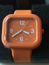 MUJI  silicon rubber watch dead stock  NEW with Box