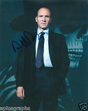RALPH FIENNES.. James Bond 007's M (Spectre) - SIGNED