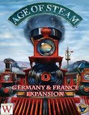 AGE OF STEAM GERMANY & FRANCE EXPANSION BOARD GAME BRAND NEW CHEAP!!