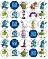 Monster Inc University Cupcake Toppers Edible Wafer Paper Buy 2 Get 3rd FREE!
