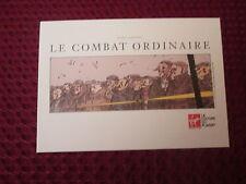 EX LIBRIS LE COMBAT ORDINAIRE/LARCENET/DARGAUD 2008/FORMAT A4/NEUF/NO BLAST
