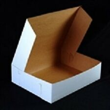 50 count WHITE 10x6x3-1/2 Bakery or Cake Box