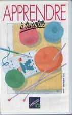 Cassette Vidéo : Apprendre à Tricoter - Phildar - Sommaire Dedans