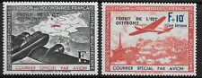 FRANCE 1942 Corps des Volontaires Ostfront ovpts pair vf MINT mnh Ceres 4&5