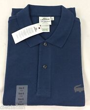 Lacoste Men's Polo Shirt Regular Fit NWT Philipines Blue Size EU 6 US L