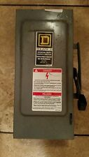 Square D general duty safety switch D222N 60Amp 240 volt