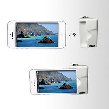 Shutter Release Grip For iPhone 5, 5s - White - iPhone 5, 5s Camera Accessories