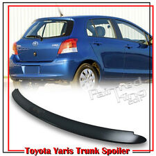 Unpaint For TOYOTA Yaris XP90 2nd CE RS 2D 4D OE Trunk Spoiler 06-09