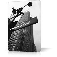 METAL TIN SIGN NEW YORK Manhattan Fifth Avenue Souvenir Poster Decor Home Wall