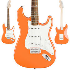 Squier Affinity Series Stratocaster Electric Guitar Competition Orange Strat NEW