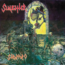 Slaughter – Strappado LP / Brown Splatter Vinyl / Germany Re (2010) Death Metal