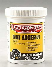 Woodland Scenics RG5161 Ready Grass Mat Adhesive (7 fl. oz.) For Any Surface-NIB