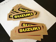 Suzuki TM400 TS400 Side Cover Decal Vintage AHRMA Magneto Emblem 68233-16500