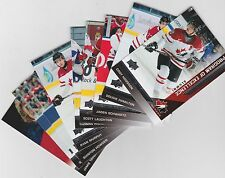 13-14 2013-14 UPPER DECK TEAM CANADA PROGRAM OF EXCELLENCE - FINISH YOUR SET
