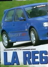 Q20 Clipping-Ritaglio 2002 Volkwagen Golf 1.6 by Cadamuro Design - La Regina