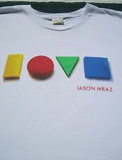 JASON MRAZ Foundation 2012 Benefit XL concert T-SHIRT