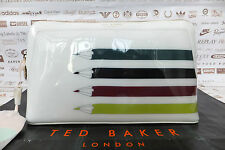 TED BAKER Ladies Wash Bag GLYNIA Large Make-Up Bag Ivory Pvc Cosmetic Bags BNWT