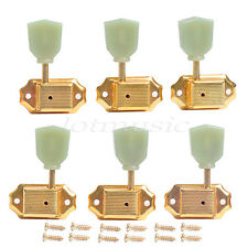 Gold 3R3L Deluxe Tulip Button Guitar Tuning Pegs Machine Heads For Gibson Parts
