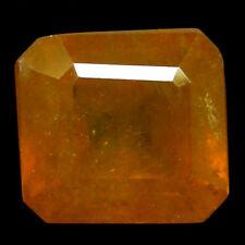 TOP SAPPHIRE : 4,52 Ct Natürlicher Gelb Orange Saphir aus Madagaskar