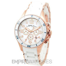 *NEW* MARC JACOBS LADIES MARINE ROCK ROSE GOLD WATCH - MBM2547 - RRP £299