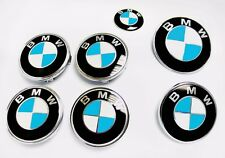 Sky Blue Gloss Complete Set Vinyl Sticker Overlay for All BMW Emblems