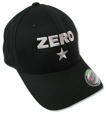 SMASHING PUMPKINS ZERO BLACK BASEBALL CAP HAT NEW OFFICIAL FLEX FIT FITTED L/XL