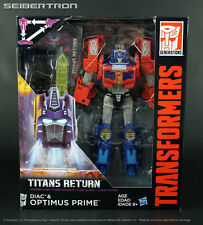 Voyager Class OPTIMUS PRIME Transformers Titans Return Generations New 2017