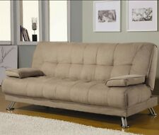 SOFA BEDS FABRIC CONVERTIBLE SOFA BED WITH REMOVABLE ARMRESTS MODERN AFFORDABLE
