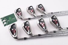 LEFT HAND WILSON STAFF D-100 IRONS / 5-SW / REGULAR UNIFLEX / 45717